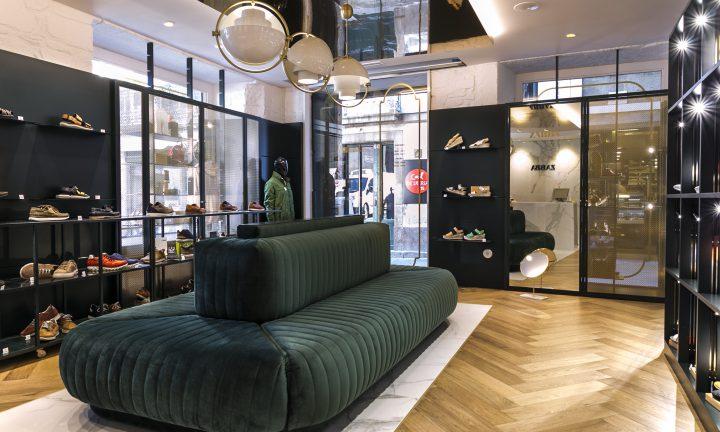 Carpintería en reforma de zapatería Zabba